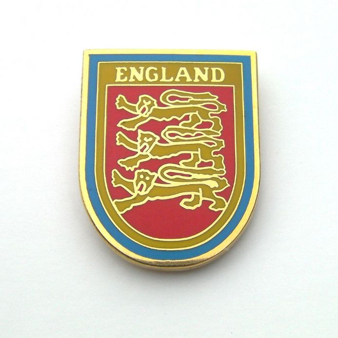 England 3 Lions Pin Badge